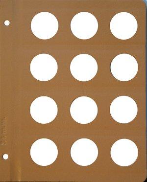 Dansco 34mm Size Pages DNPG34mm