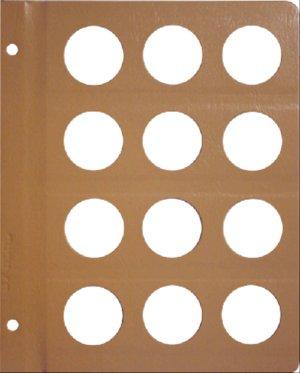Dansco 37mm Size Pages DNPG37mm