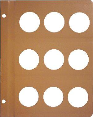 Dansco 40mm Size Pages DNPG40mm