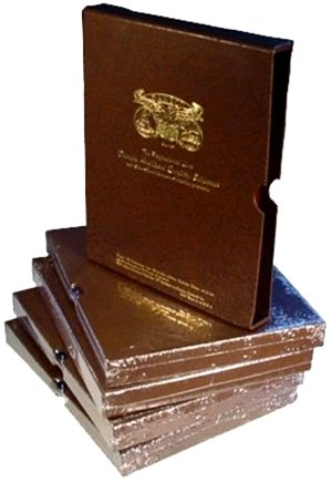 Dansco 1 inch Album Slipcase For all Dansco coin albums with 1 inch binders DNSC1