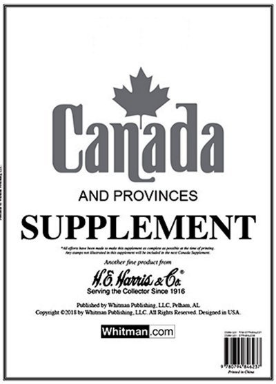 H.E.Harris CANADA 2016 Supplement HECAN16