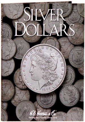 HE Harris Coin Folder Silver (LG) Dollar - Plain Folder HECF2665
