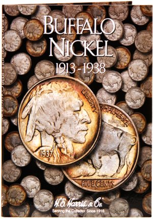 HE Harris Coin Folder Buffalo Nickel, 1913-1938 HECF2678