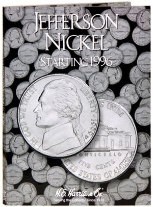 HE Harris Coin Folder Jefferson Nickel No. 3, 1996-2009 HECF2681