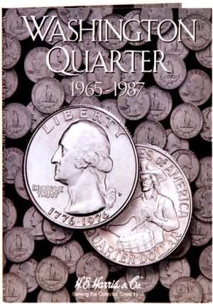 HE Harris Coin Folder Washington Quarters No. 3, 1965-1987 HECF2690
