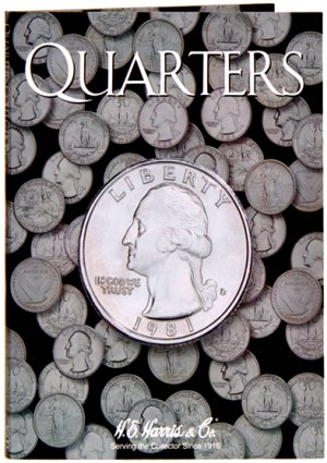 HE Harris Coin Folder Quarter - Plain Folder HECF2692