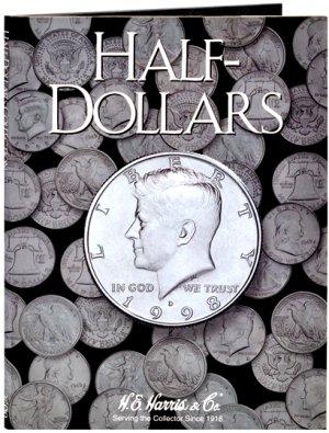 HE Harris Coin Folder Half Dollar - Plain Folder HECF2698