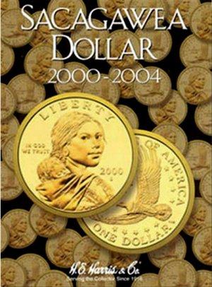 HE Harris Coin Folder Sacagawea Dollar No. 1, 2000-2004 HECF2715