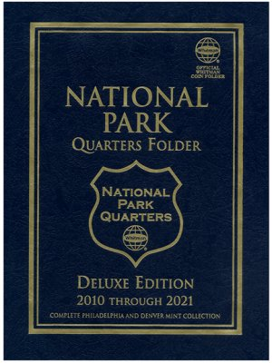 Whitman Deluxe National Park Quarters, PD, 120 Coin, 2010-2021 WH2875