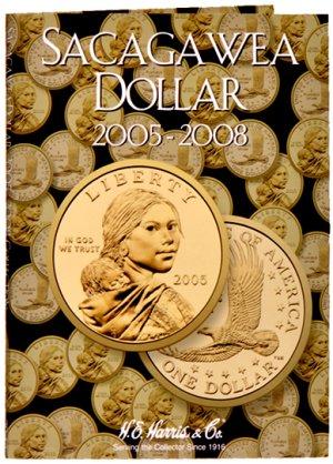 HE Harris Coin Folder Sacagawea Dollar No. 2, 2005-2008 HECF2943