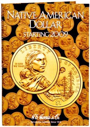 HE Harris Coin Folder Native American Dollar 2009-12 PD HECF3162
