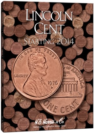 HE Harris Coin Folder Lincoln Cent No. 4, 2014-2015D HECF4002