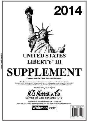 H.E.Harris U.S. Liberty 3 2016 Supplement HELIB316