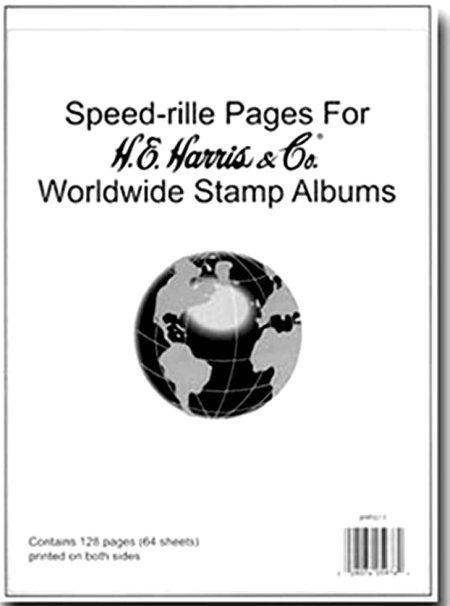H.E.Harris Worldwide Speedrille Pages HEBLWSP