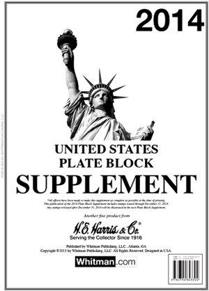 H.E.Harris U.S. Plate Block 2016 Supplement HEUSPB16