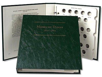 Littleton Mercury Dime Album 1916-1945 LCA02