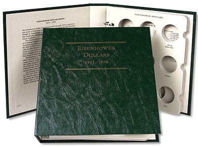 Littleton Eisenhower Dollar Album 1971-1978 LCA11