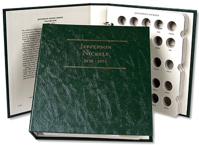 Littleton Jefferson Nickel Album No. 1 938-1975 LCA28