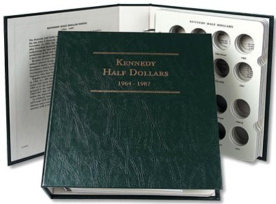 Littleton Kennedy Half Dollar Album No. 1 1964-1987 LCA49