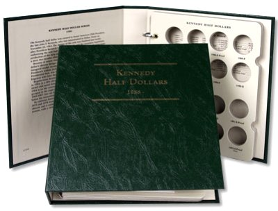 Littleton Kennedy Half Dollar Album No. 2 1988-2004 LCA50