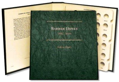 Littleton Barber Dime Album 1892-1916 LCA60