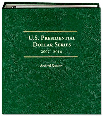 Littleton Presidential Dollar Album for P  D Mint Issues 2007-2016 LCA69