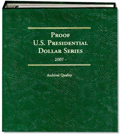 Littleton Presidential Dollar Album for S Mint Issues 2007-16 LCA71