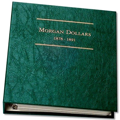 Littleton Morgan Dollar Album No. 1 1878-1891 LCA08