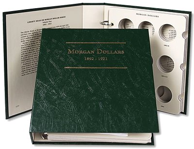 Littleton Morgan Dollar Album No. 2 1892-1921  LCA09