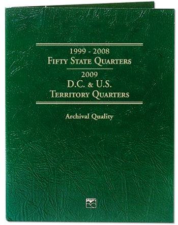 Littleton State/DC/Terr Quarter Folder 1999-2009 DS #LCF03T