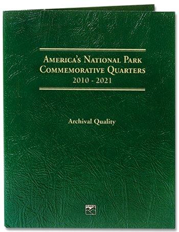 Littleton National Park Quarters Folder, 2010-2021 - DS #LCF39D