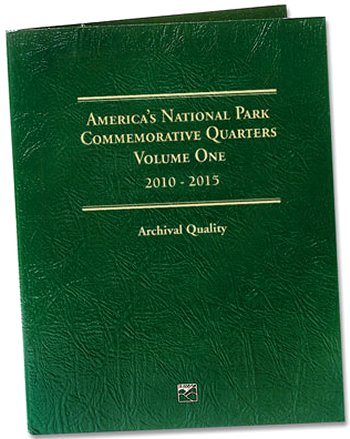 Littleton National Park Quarters Folder No. 1, 2010-15 - PD #LCF42D