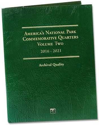 Littleton National Park Quarters Folder No. 2, 2016-21 - PD #LCF44D