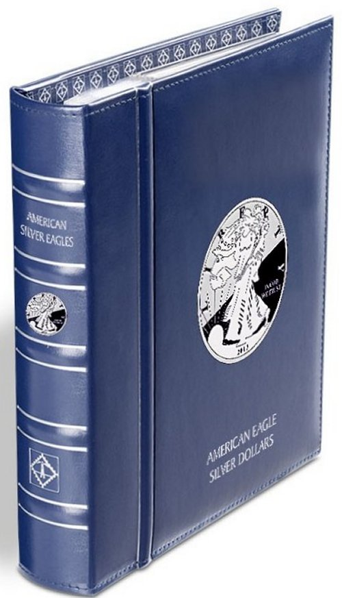Lighthouse American Silver Eagle Album with SC LHCAASE