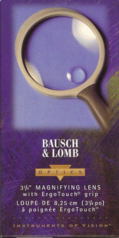 Bausch and Lomb 3 inch hand held magnifier - No. 813303 MagBL3
