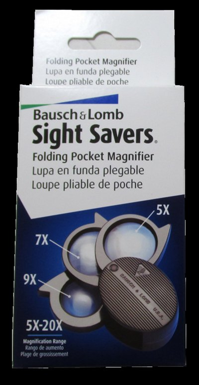 Bausch and Lomb 20 Power 3 Lens - No.  812367  MAGBLFL