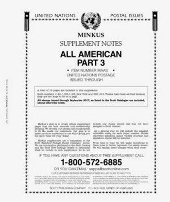 MINKUS All-American Part 3 (United Nations) 2016 MKALLAM316