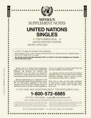 MINKUS UNITED NATION SINGLES 2016 MKUNS16