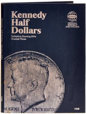 Whitman Kennedy Halves #3, 2004-2007 WH1938