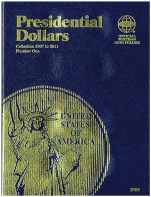 Whitman Presidential Dollar Folder Vol. 1 2007-2011 WH2181