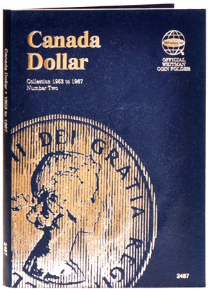 Whitman Canadian Coin Folder Dollars Volume II 1953-1967 WH2487
