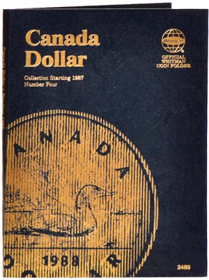 Whitman Canadian Coin Folder Dollars Volume IV 1987-DATE WH2489