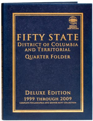 Whitman Deluxe 50 Statehood, DC,  Territory Quarters, 1999-2009  PD  WH80783
