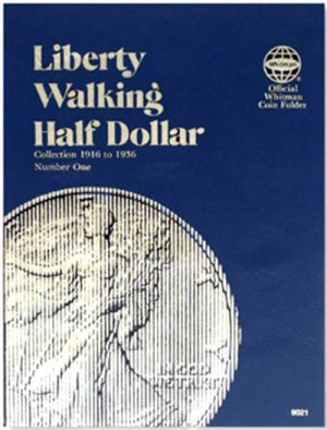Whitman Liberty Walking Halves #1, 1916-1936 WH9021