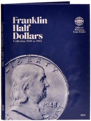 Whitman Franklin Halves, 1948-1963 WH9032