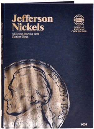 Whitman Jefferson Nickels #3, 1996-2013 WH9035