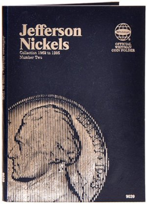 Whitman Jefferson Nickels #2, 1962-1995 WH9039