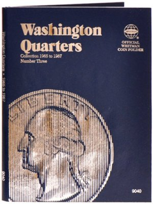 Whitman Washington Quarters #3, 1965-1987 WH9040