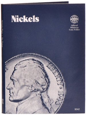 Whitman Nickels - Plain Folder WH9042